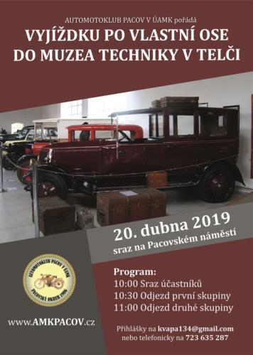 Vyjížďka do muzea v Telči